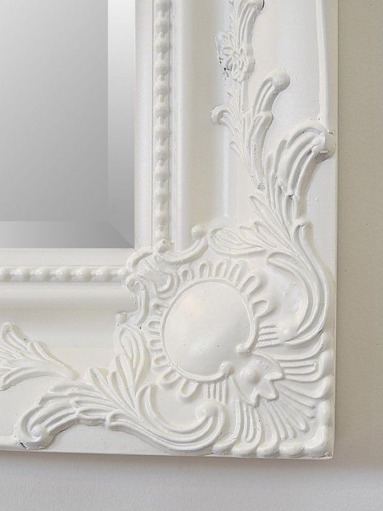 NEW French White Shabby Chic Ornate Mirror CHOOSE YOUR